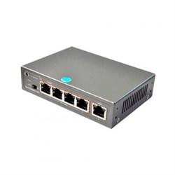 PoE-1005-4P/250m 4-портовый неуправляемый POE коммутатор - фото 2137