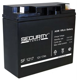 SF 1217 аккумулятор 12В 17Ач - фото 2353