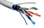 Компьютерный кабель экранированный FTP 5E (CCA)