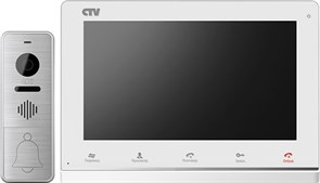 Комплект цветного видеодомофона  CTV-DP4101AHD CTV