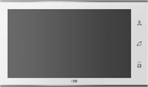 Цветной монитор  видеодомофона  CTV-M2101 W CTV