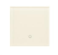 Сенсорный беспроводной выключатель одна зона освещения 1013 White Pearl