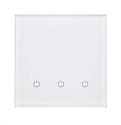 Сенсорный беспроводной выключатель три зоны освещения 9003 White Pure