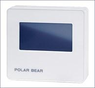 Датчик концентрации углекислого газа и температуры воздуха в помещении Polar Bear PCO2T-R1S1-Touch